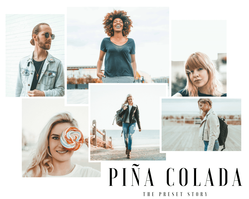 pina colada lightroom presets