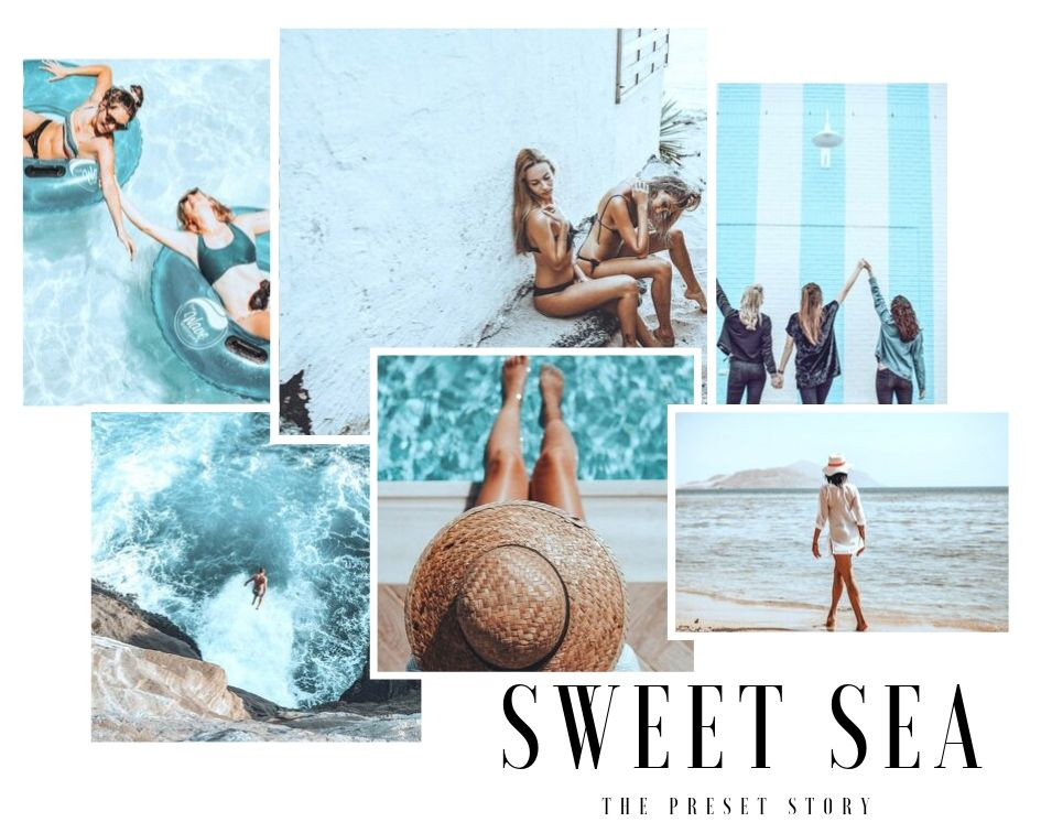 Summer and beach lightroom presets