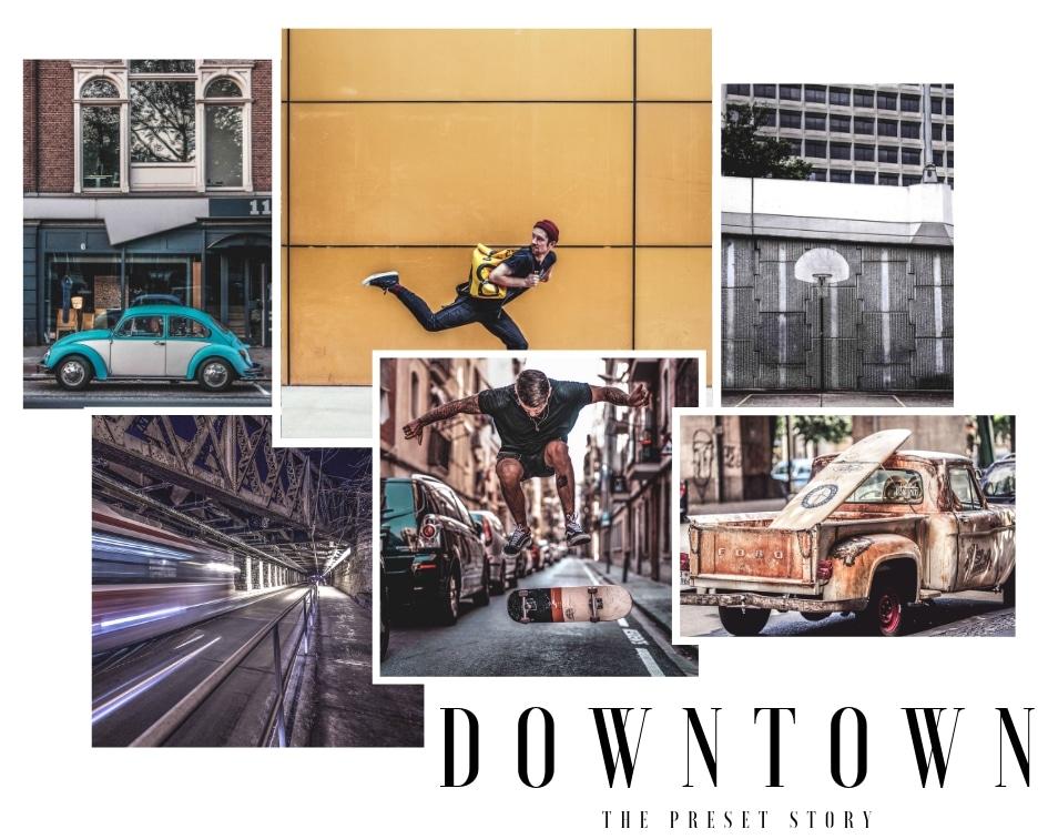 Downtown Street lightroom presets